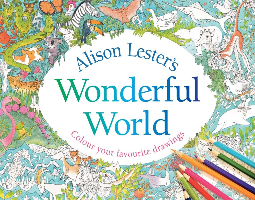 Alison Lesters Wonderful World | Paperback Book