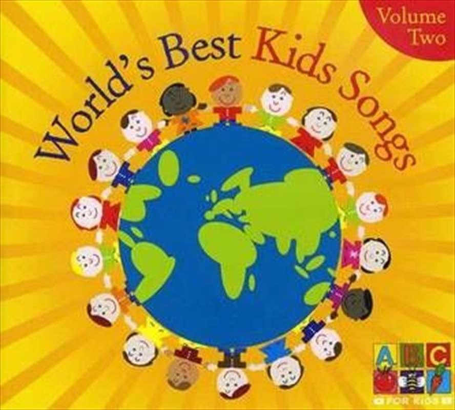 Worlds Best Kids Songs Vol 2 | CD