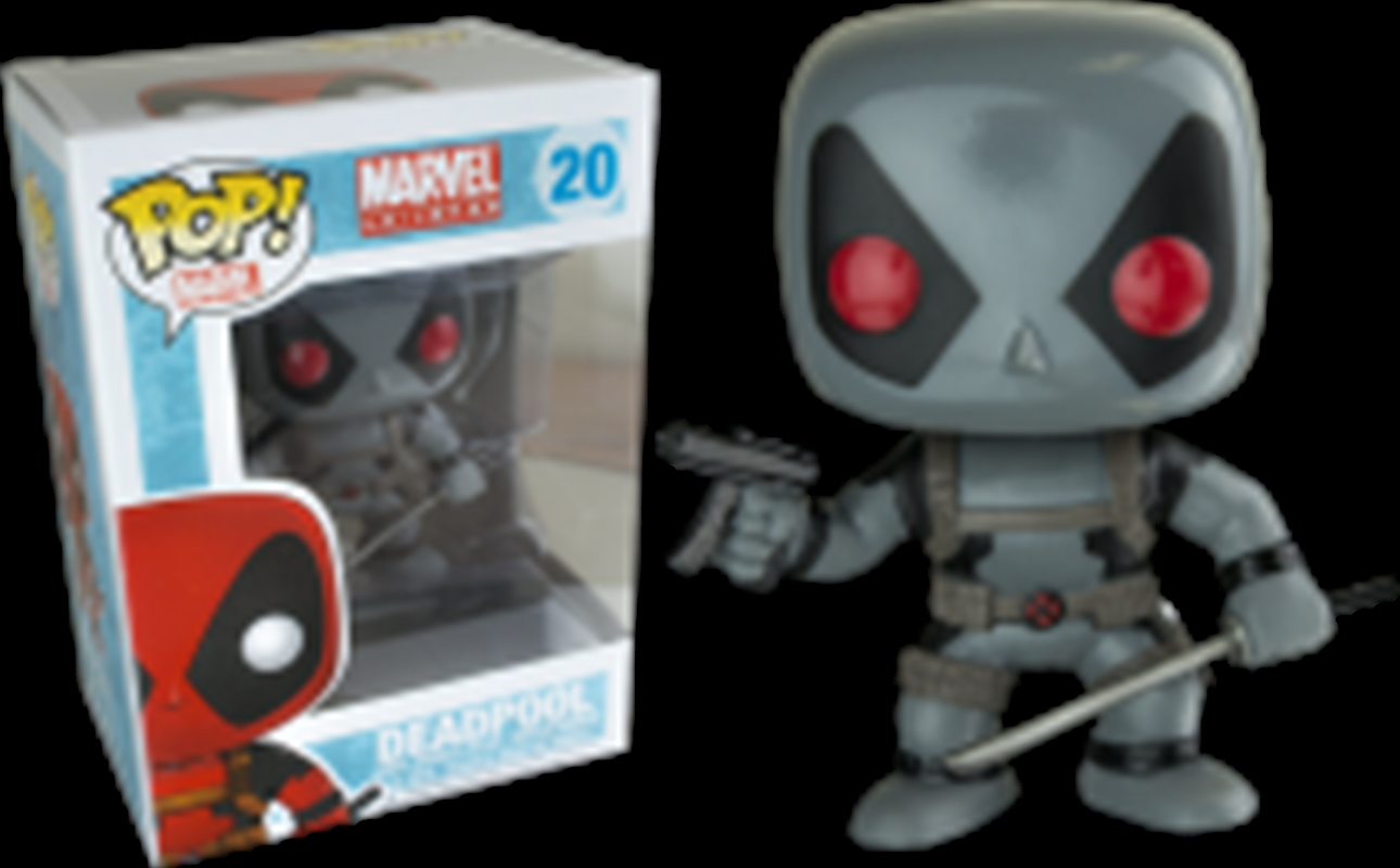 Deadpool X Force Grey | Pop Vinyl