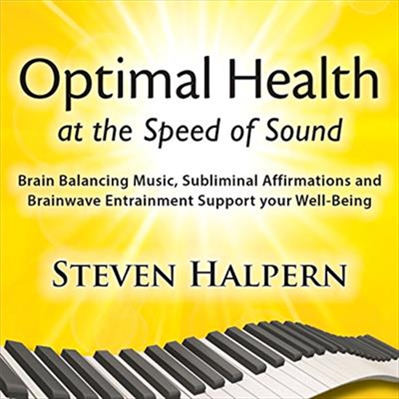 Optimal Health At The Speed Of Sound | CD