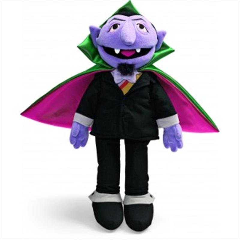 Count Von Count Plush   Toy