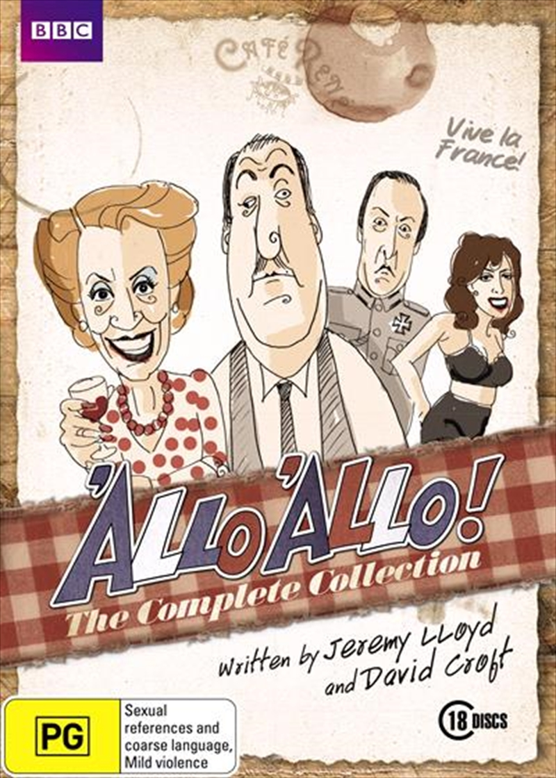 Allo 'Allo! Series Collection | DVD
