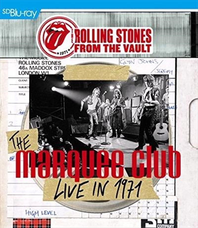 From The Vault - Live At The Marquee | Blu-ray
