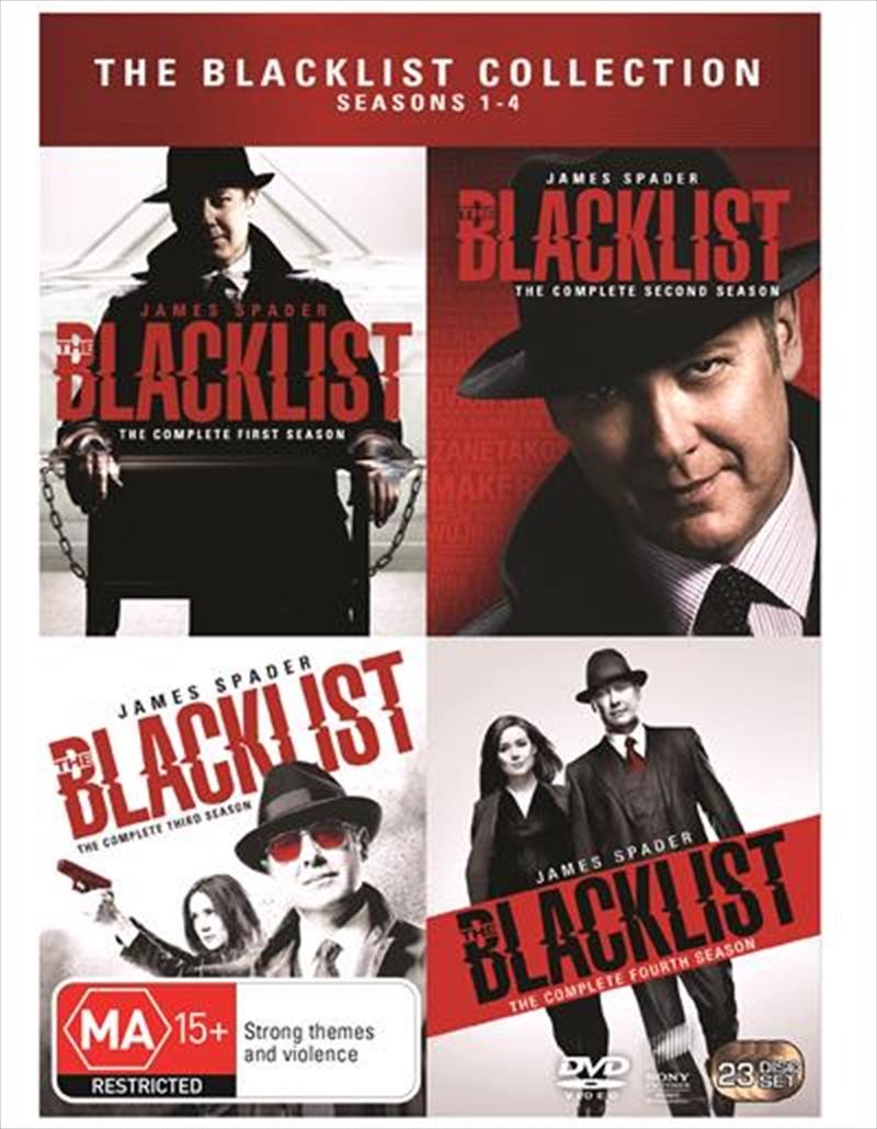 Blacklist - Season 1-4 Boxset | DVD