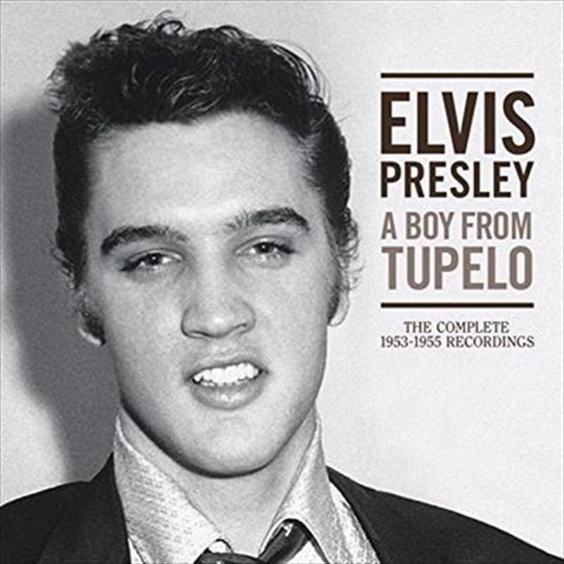A Boy From Tupelo: Sun Masters | CD