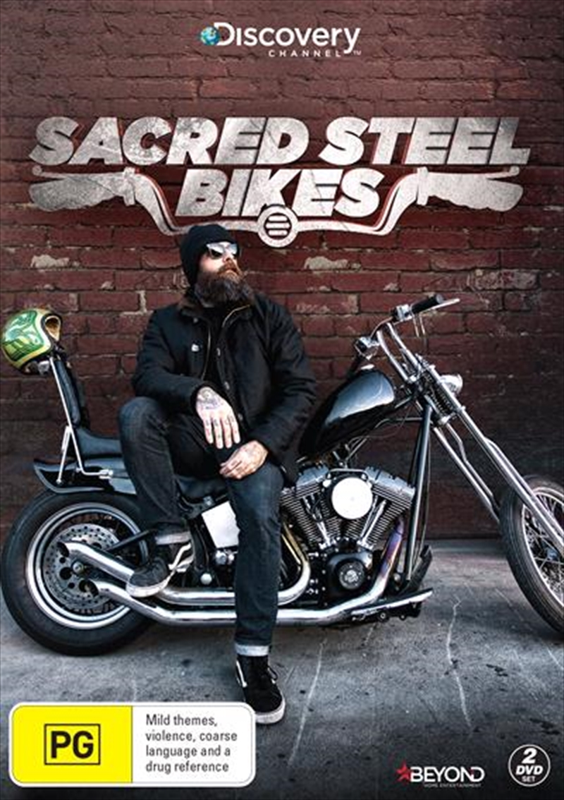 Sacred Steel Bikes   DVD