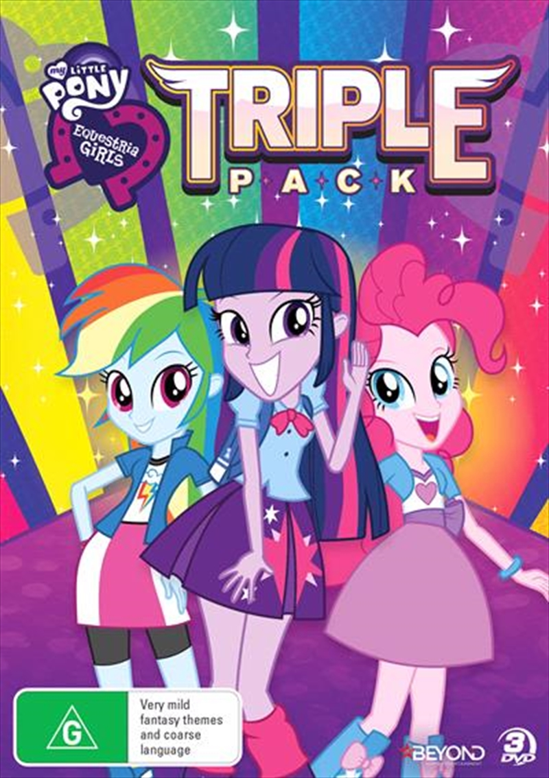 My Little Pony - Equestria Girls | Triple Pack | DVD
