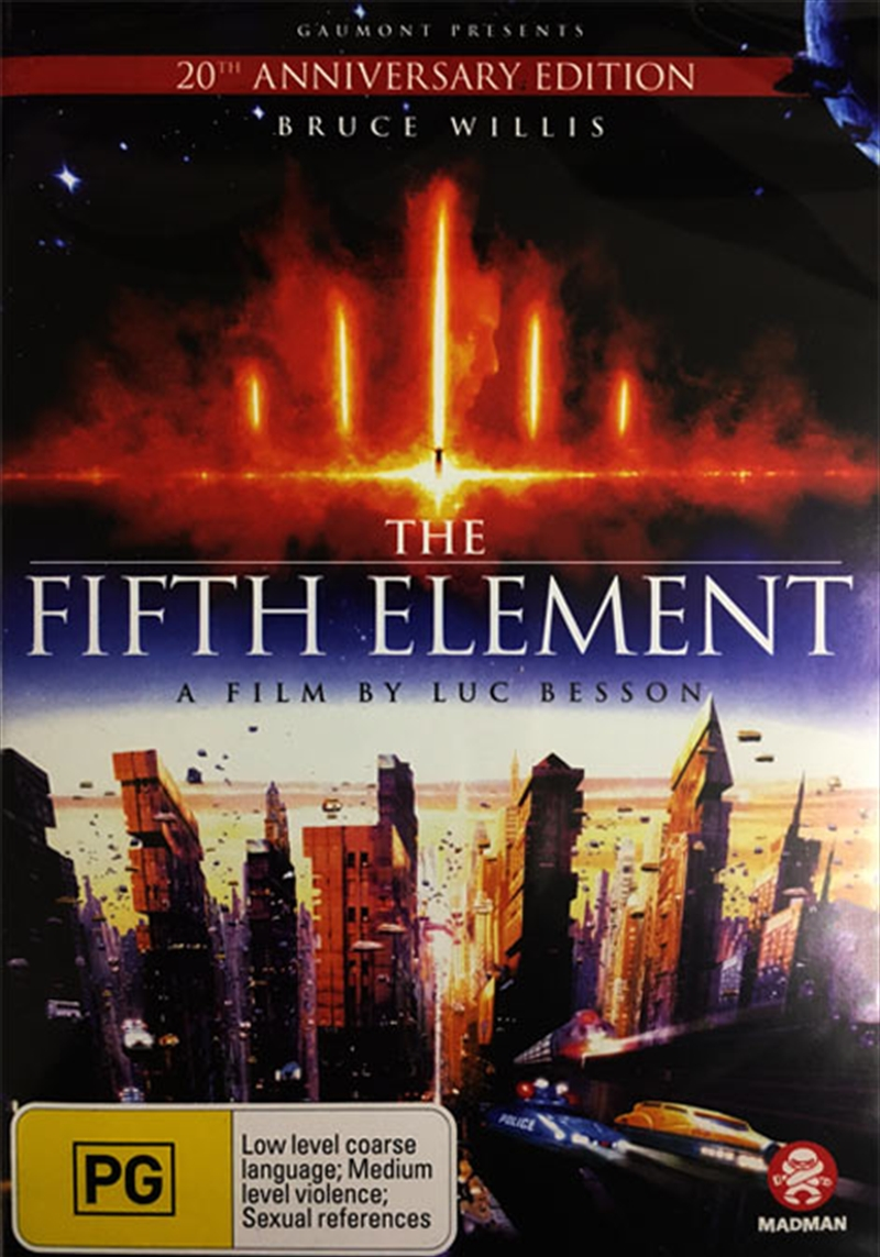 Fifth Element: Sanity Exclusive | DVD