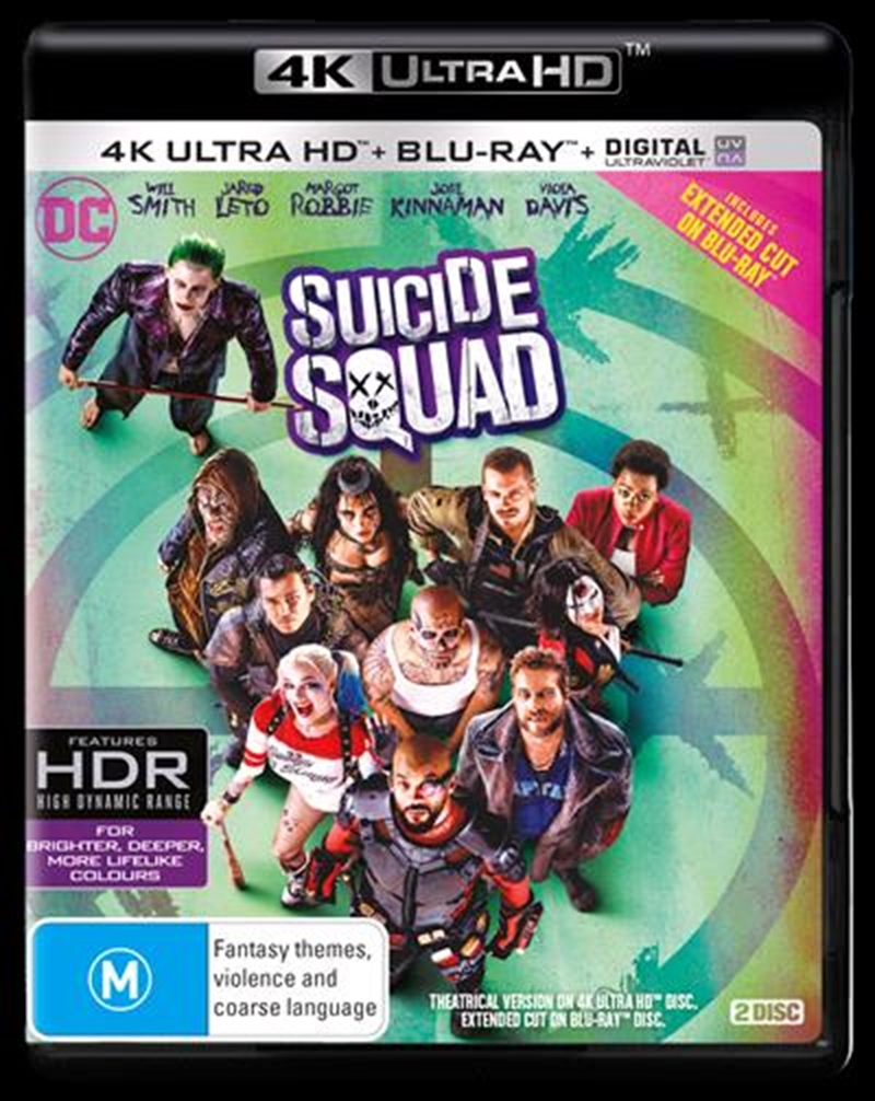 Suicide Squad | Blu-ray + UHD