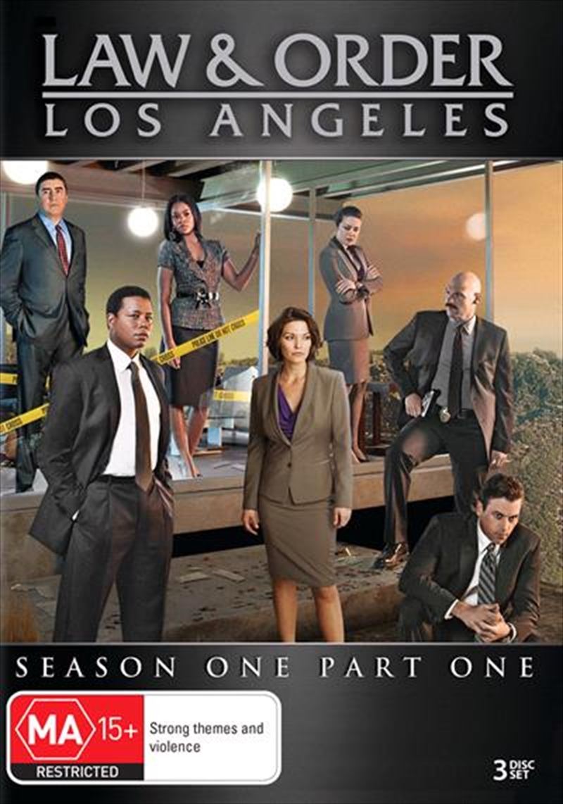 Law and Order - Los Angeles - Season 1 - Part 1 | DVD