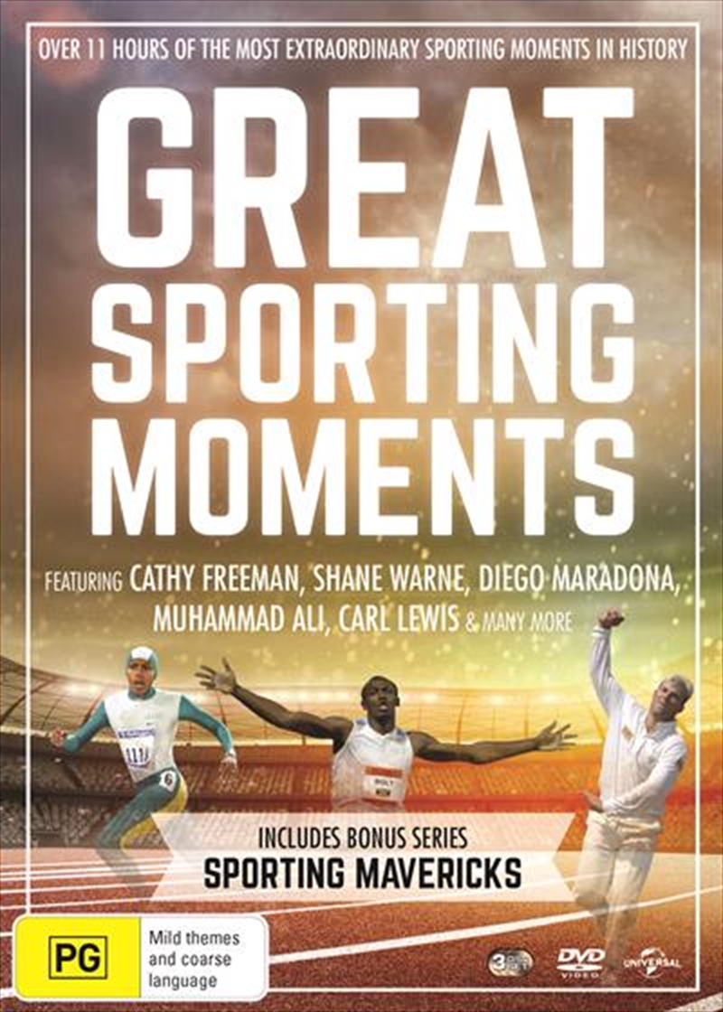 Great Sporting Moments / Sporting Mavericks | DVD