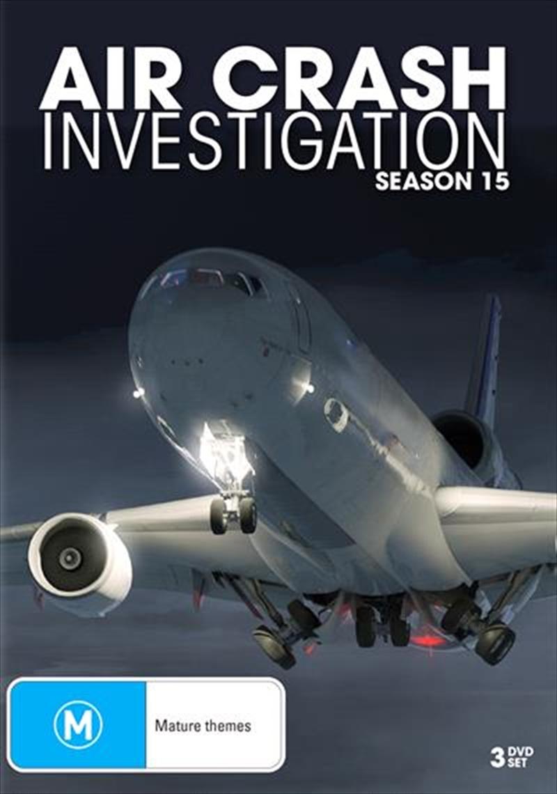 Air Crash Investigations - Season 15 | DVD