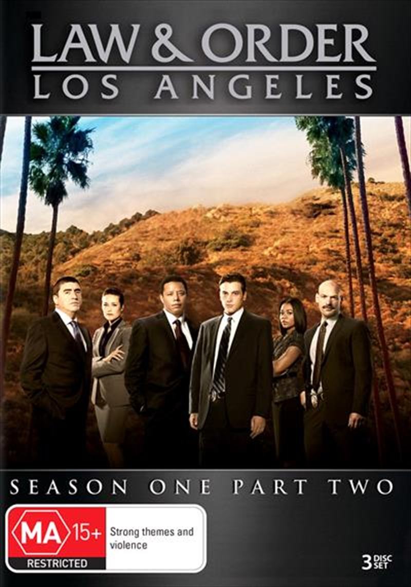Law and Order - Los Angeles - Season 1 - Part 2 | DVD