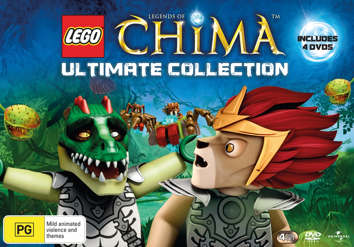 Lego Legends Chima Pack; V4-V7   DVD