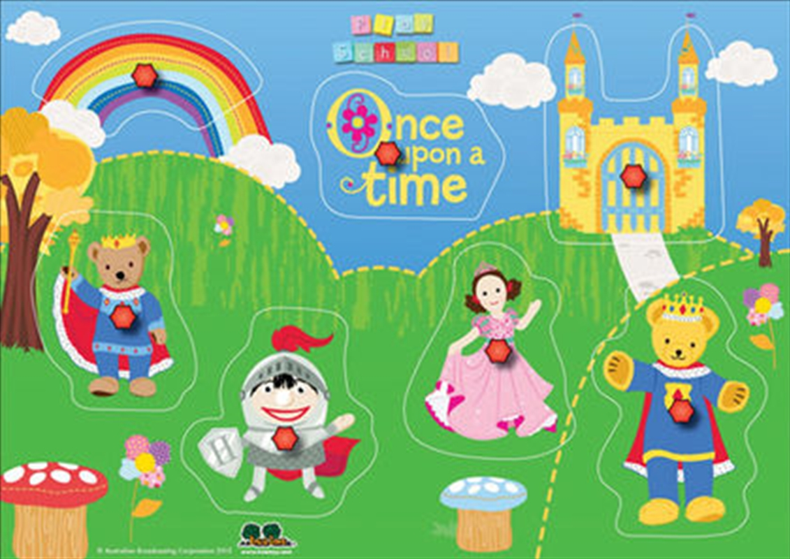 Once Upon A Time Pin Puzzle | Merchandise