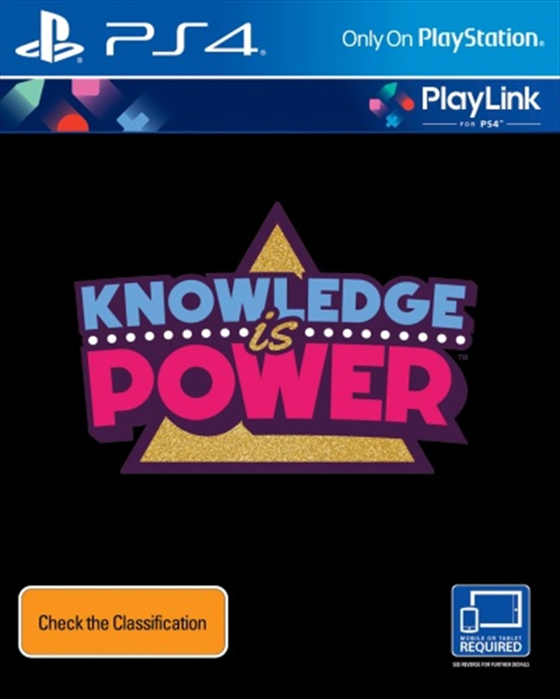 Knowledge Is Power: Playlink | PlayStation 4