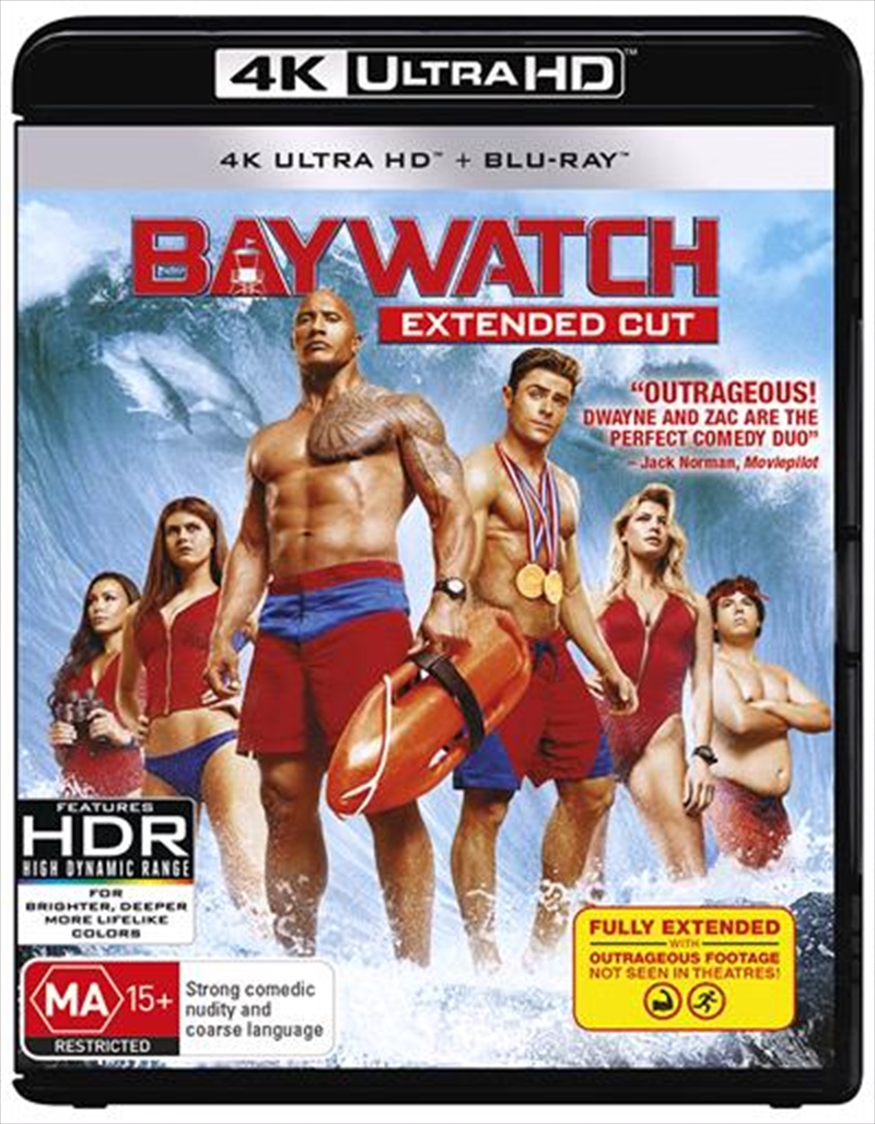 Baywatch - Extended Cut | UHD