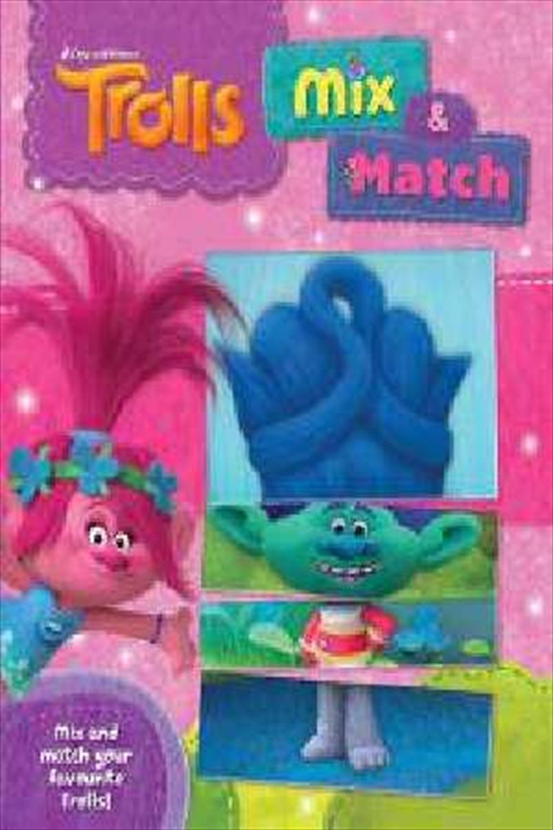 Trolls Mix And Match | Board Book
