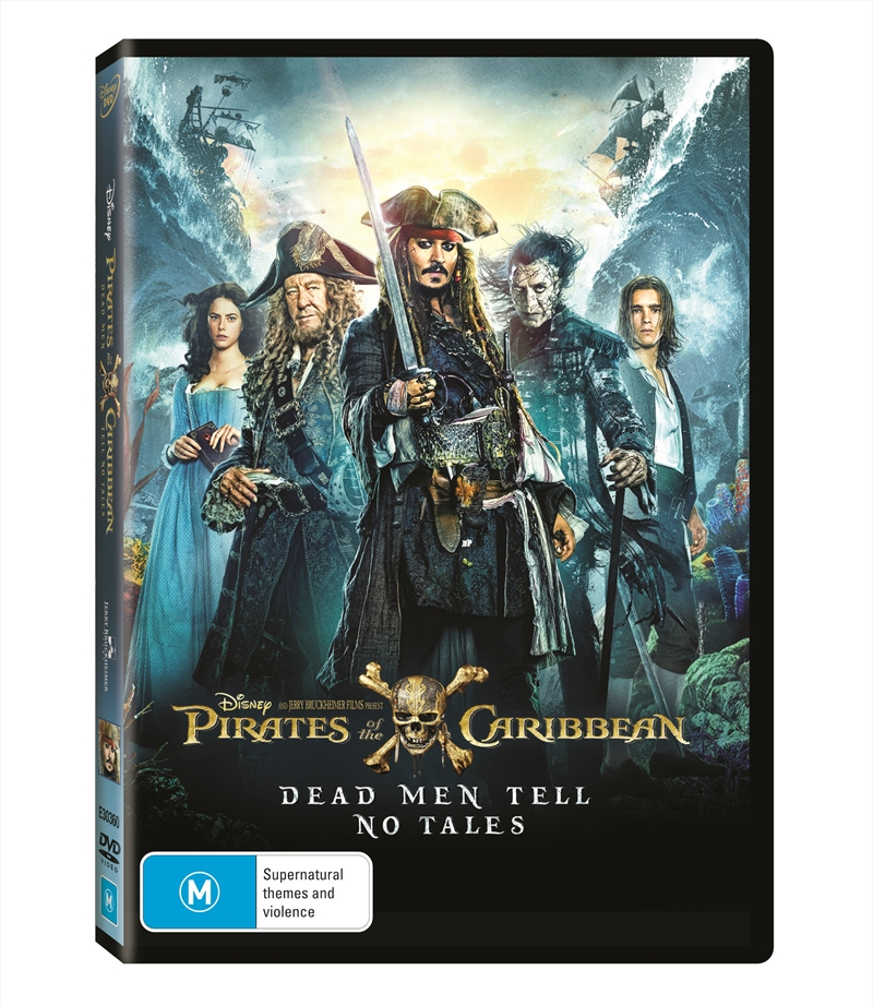 Pirates Of The Caribbean - Dead Men Tell No Tales | DVD