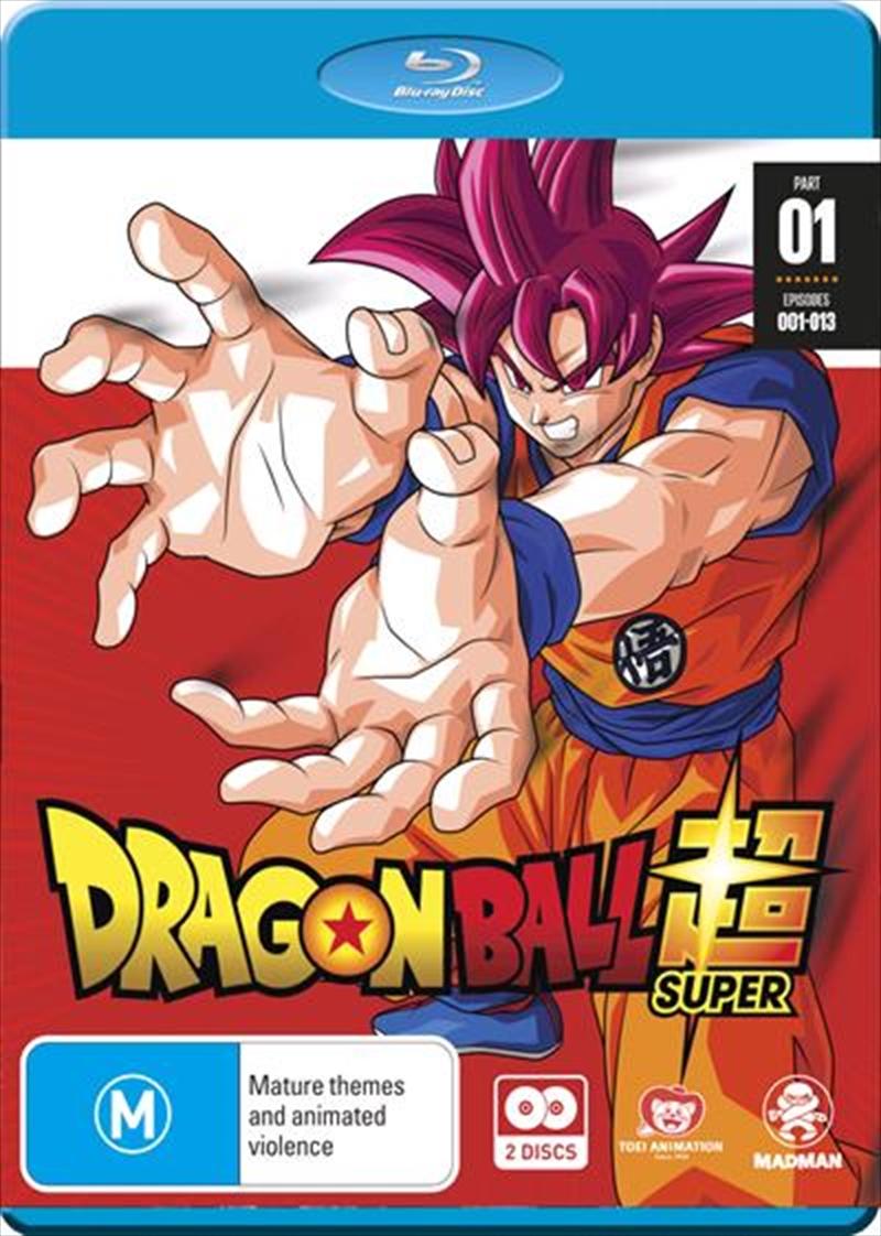 Dragon Ball Super - Part 1 - Eps 1-13 | Blu-ray