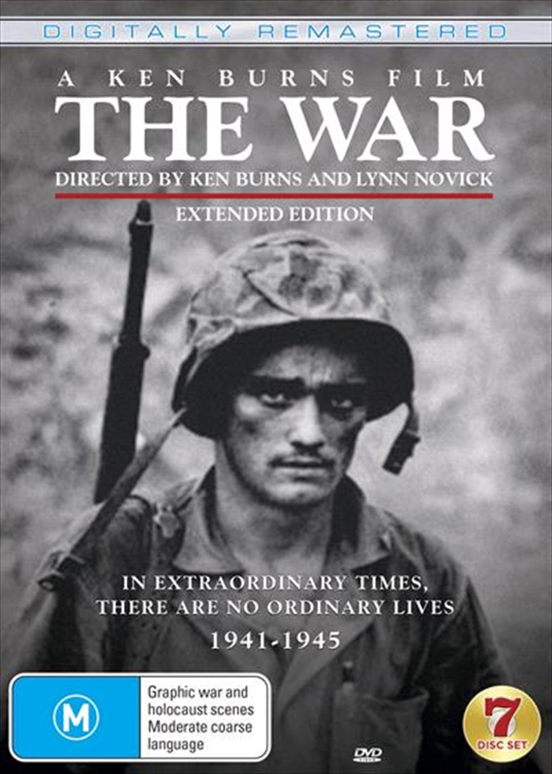 War - A Film By Ken Burns - Extended Edition Remastered | DVD
