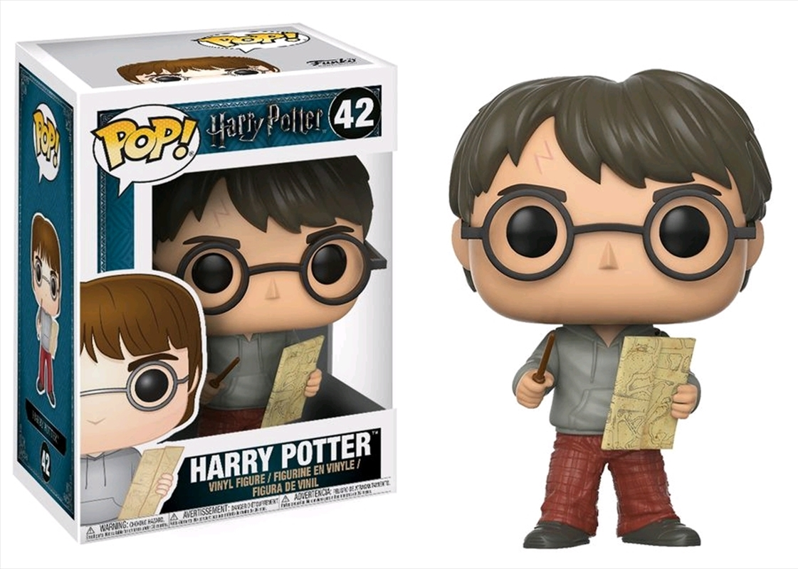 Harry Potter - Harry with Marauders Map Pop! Vinyl | Pop Vinyl
