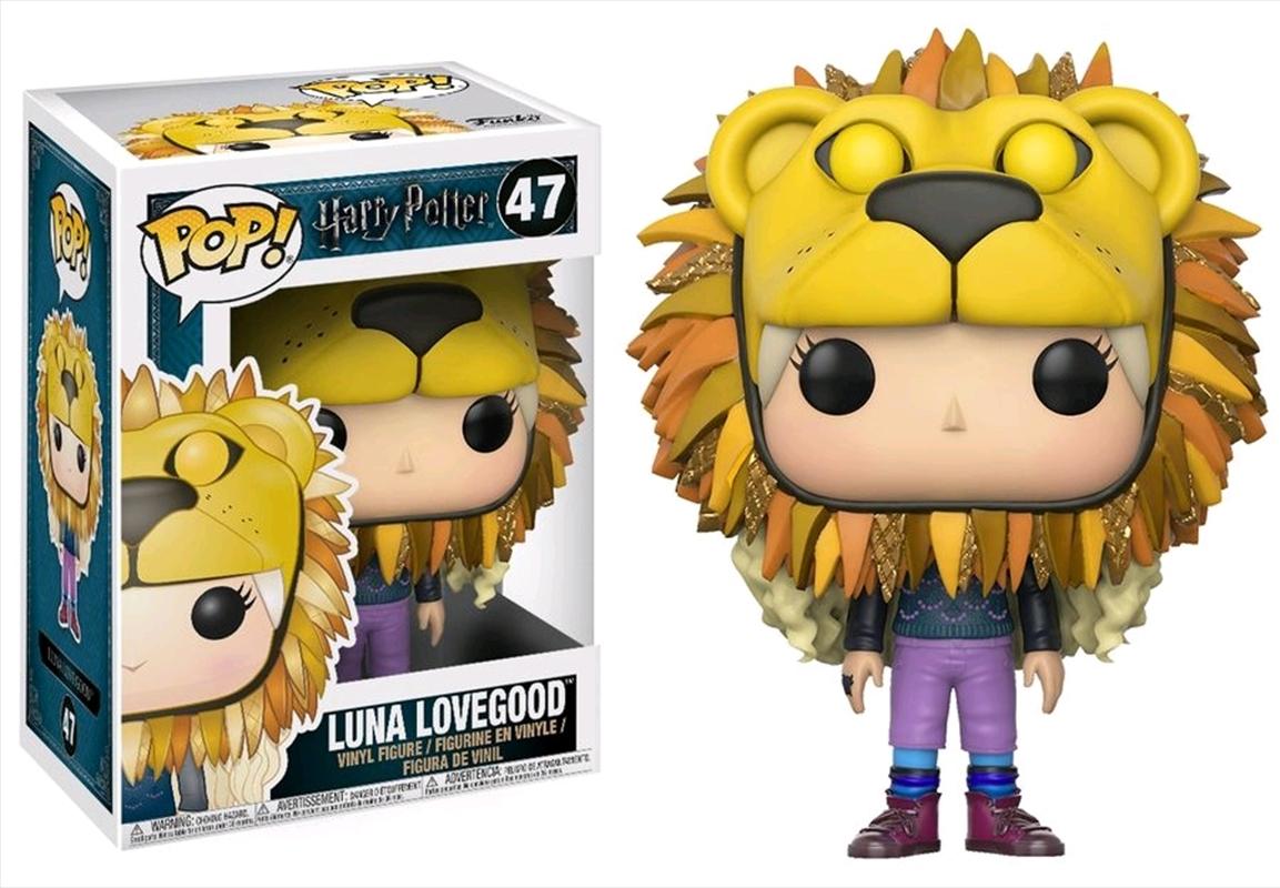 Luna Lovegood Lionhead | Pop Vinyl