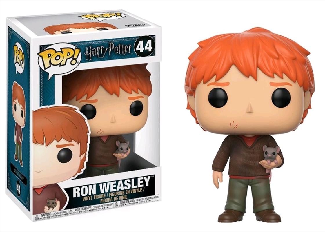 Harry Potter - Ron Weasley With Scabbers | Pop Vinyl