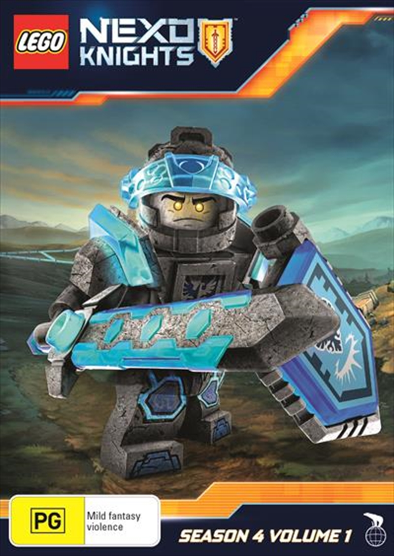 Lego Nexo Knights - Season 4 - Vol 1 | DVD