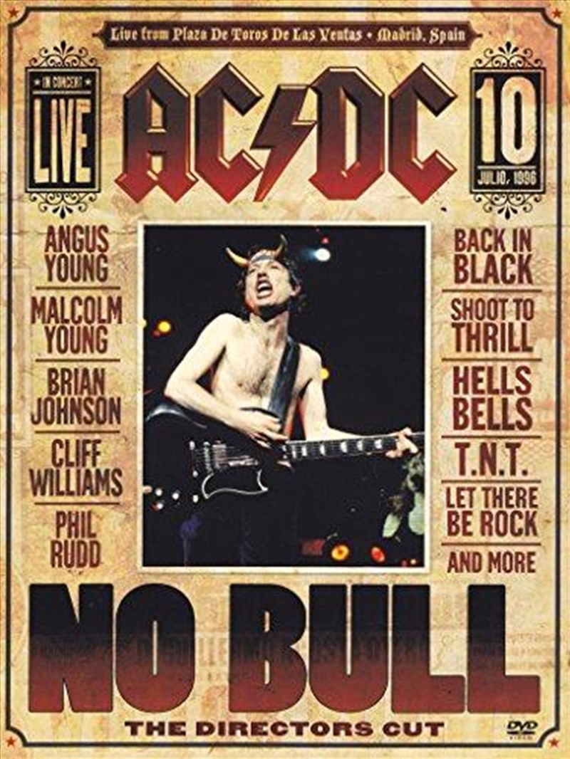 No Bull The Directors Cut | DVD
