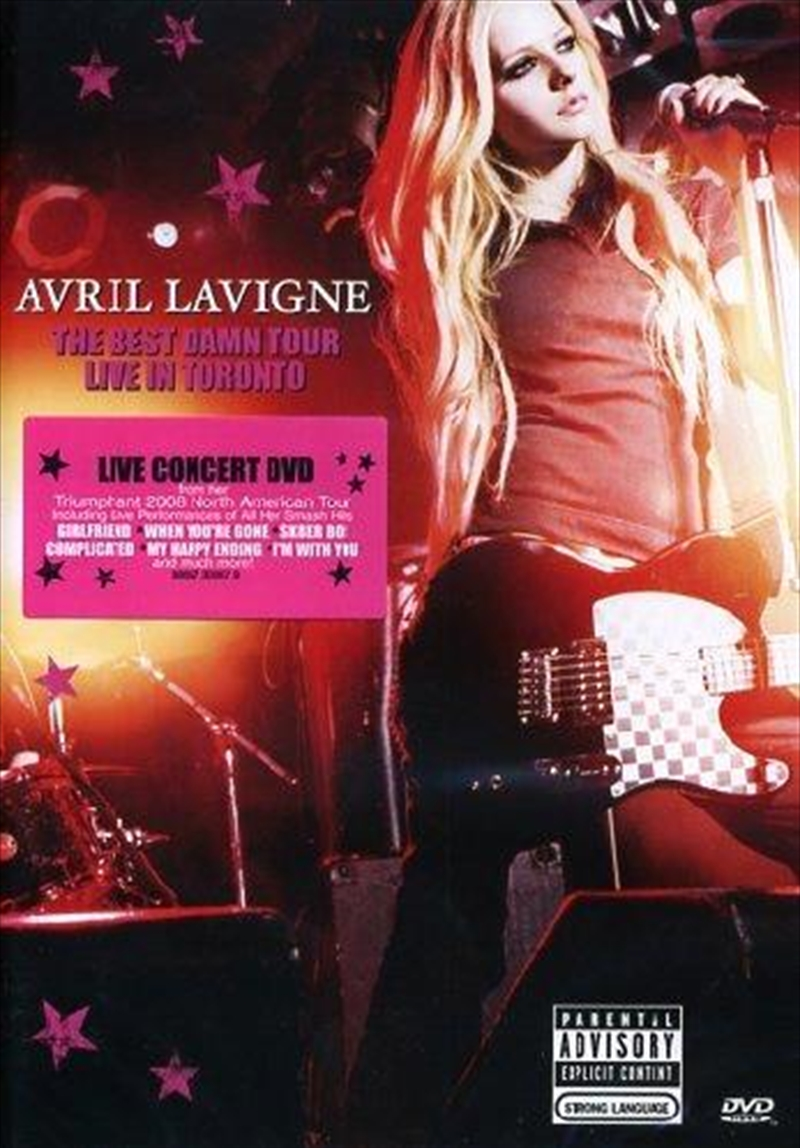 Avril Lavigne The Best Damn Tour Full Concert