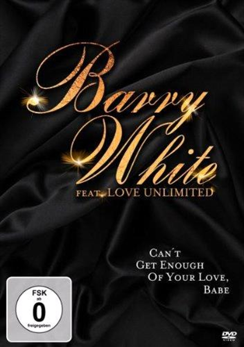 Barry White Ft.love Unlimited-can't Get Enough Of Your Love Babe [2011]