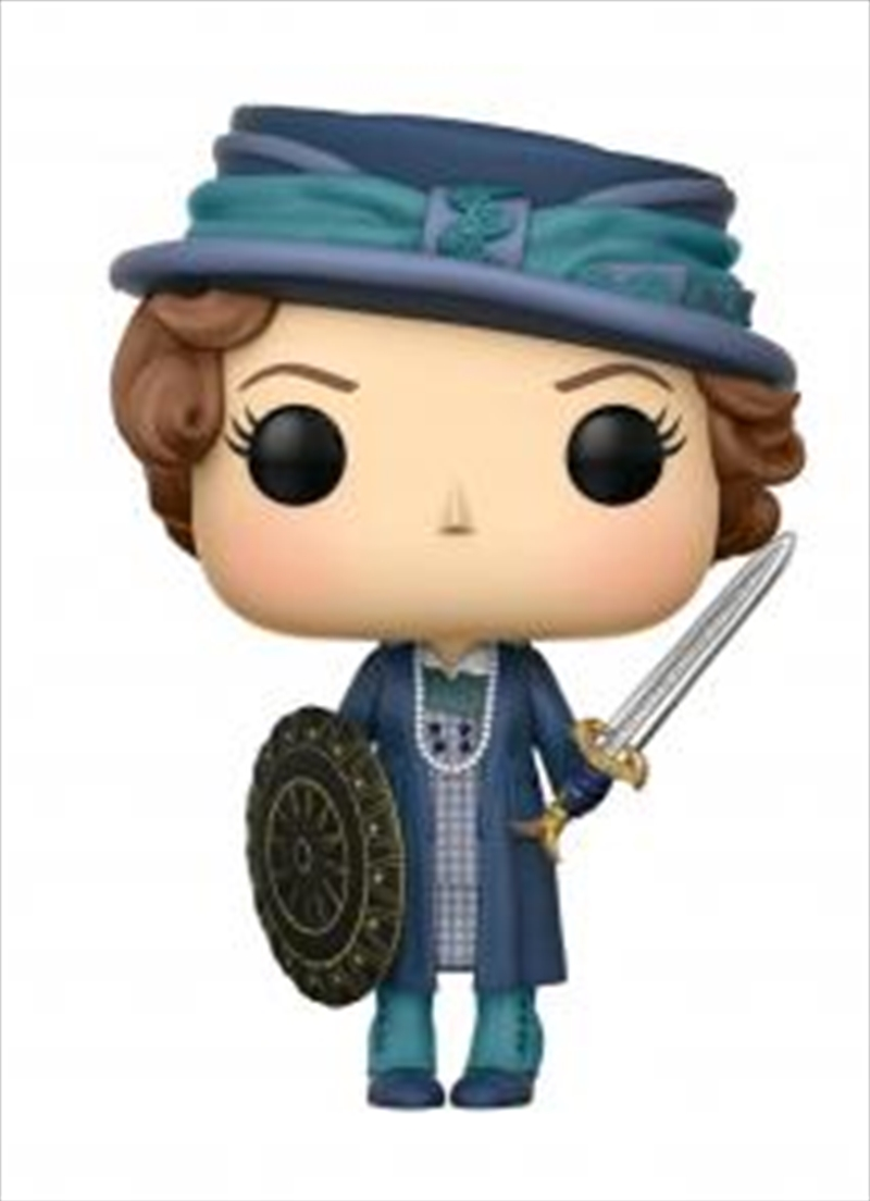 Etta With Sword And Shield | Pop Vinyl