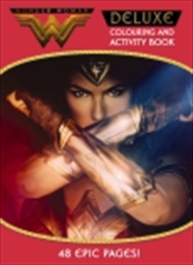 Wonder Woman Deluxe Colour And Activity Book | Paperback Book