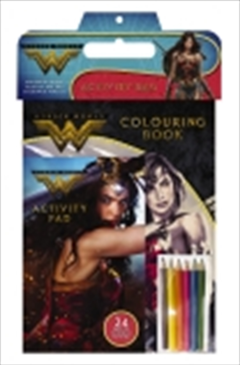 Wonder Woman Activity Bag | Paperback Book