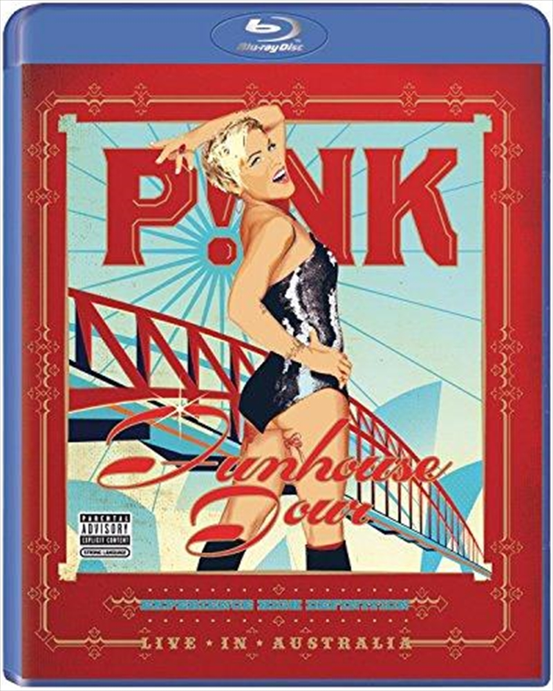 Pink's Funhouse Tour- Live In Australia 2009 | Blu-ray