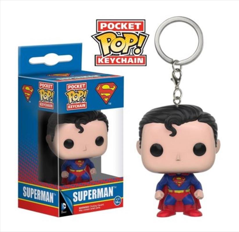 Superman Pop Keychain | Accessories