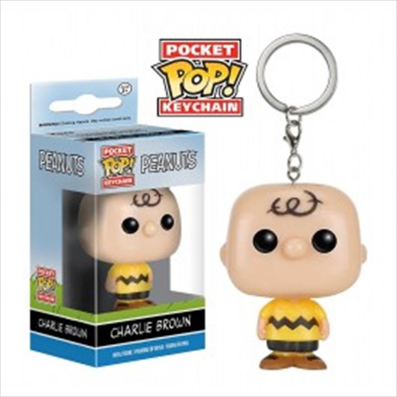 Charlie Brown Pop Keychain   Accessories