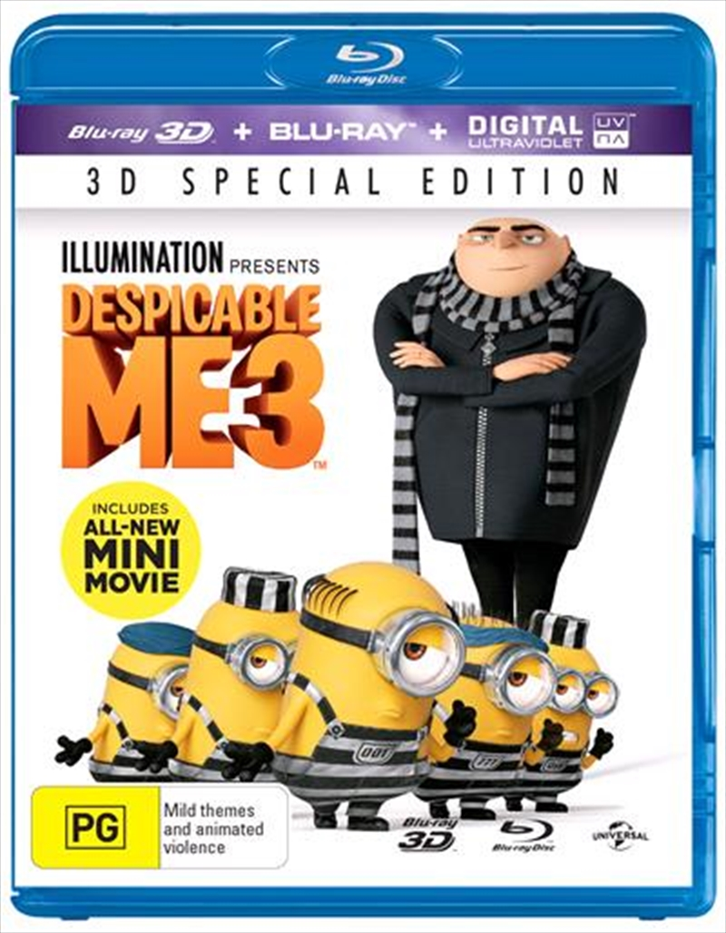 Despicable Me 3 | Blu-ray 3D