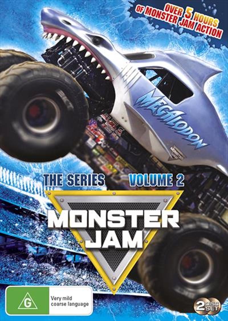 Monster Jam - 2016 TV Series   DVD
