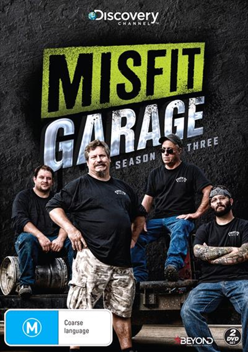 Misfit Garage - Season 3 | DVD