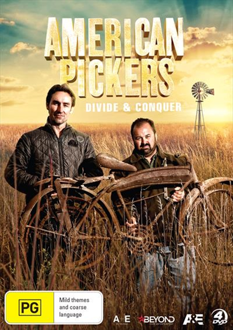 American Pickers - Divide and Conquer   DVD
