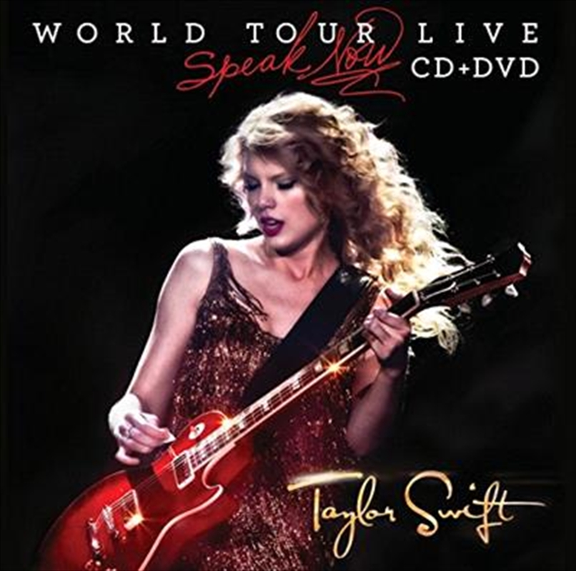 Speak Now World Tour Live | CD/DVD