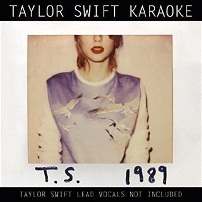 Taylor Swift Karaoke 1989 | CD