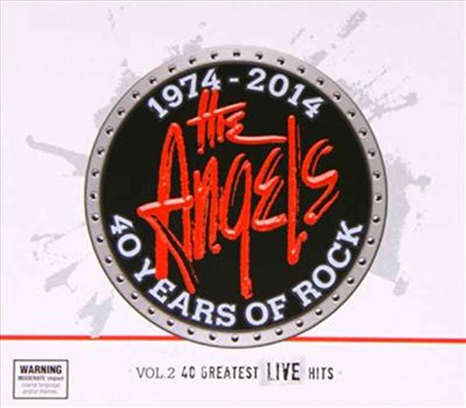 40 Years Of Rock - Vol. 2- 40 Greatest Live Hits | CD