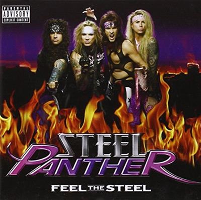 Feel The Steel | CD