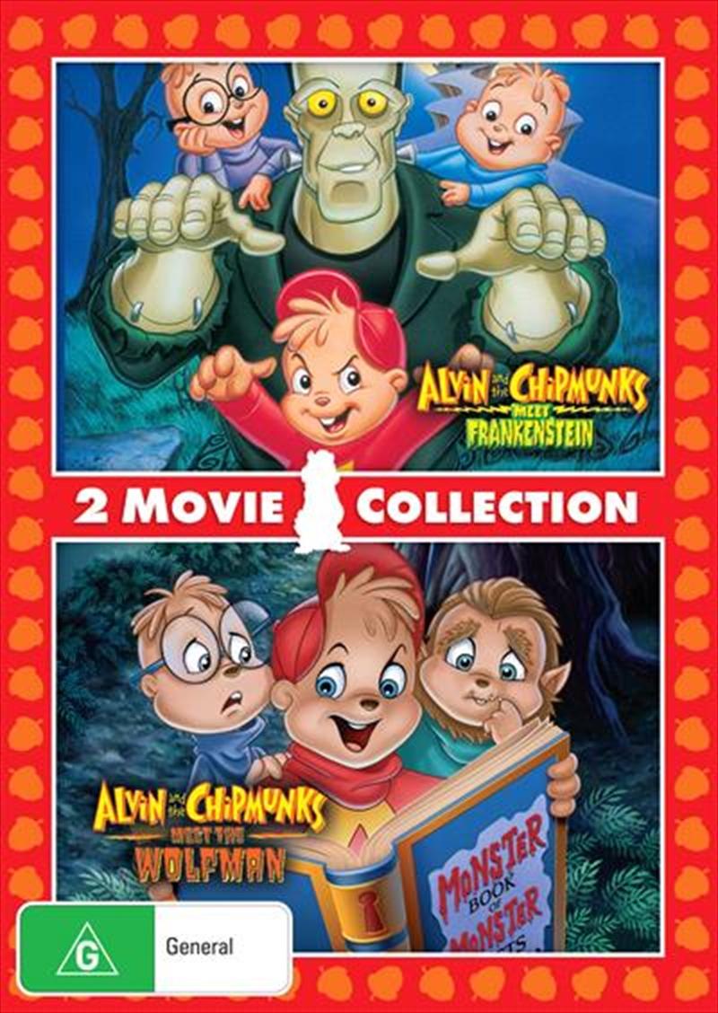 Alvin and the Chipmunks: Meet Frankenstein/Meet the Wolfman   DVD