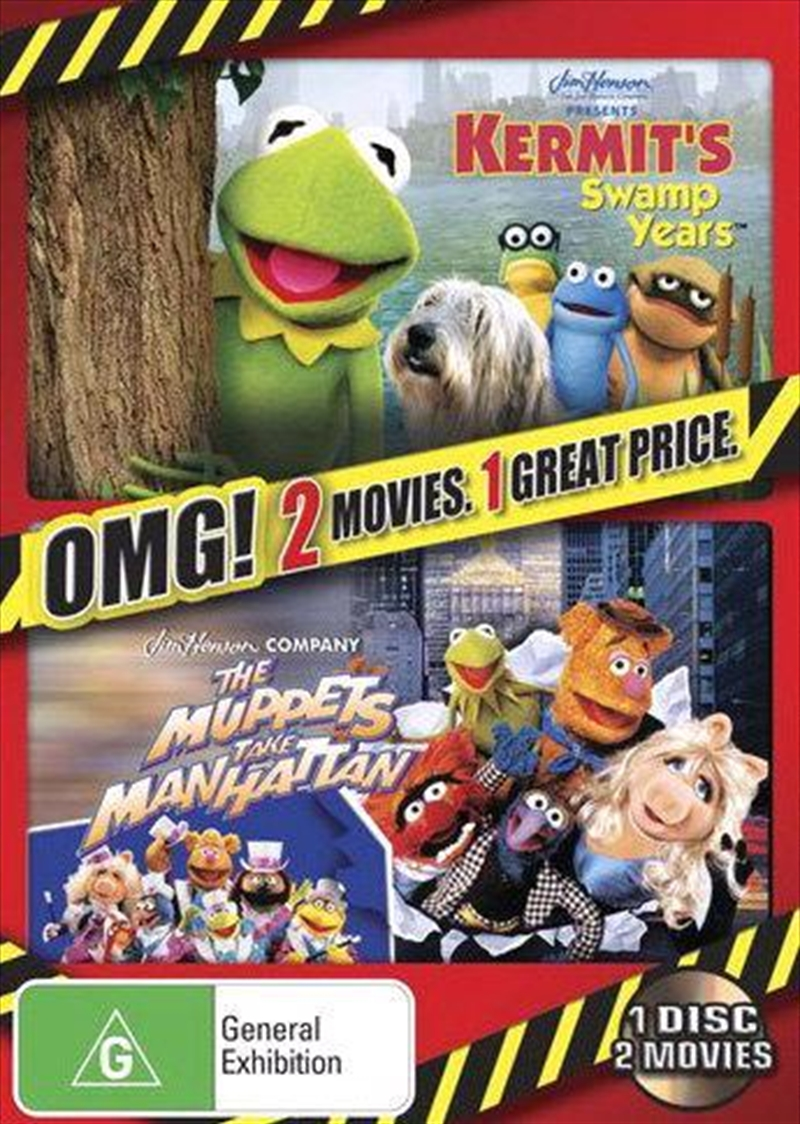 Kermit's Swamp Years/Muppets Take Manhattan | DVD
