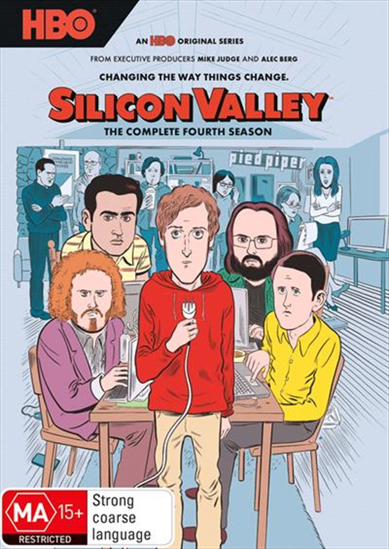 Silicon Valley - Season 4 | DVD