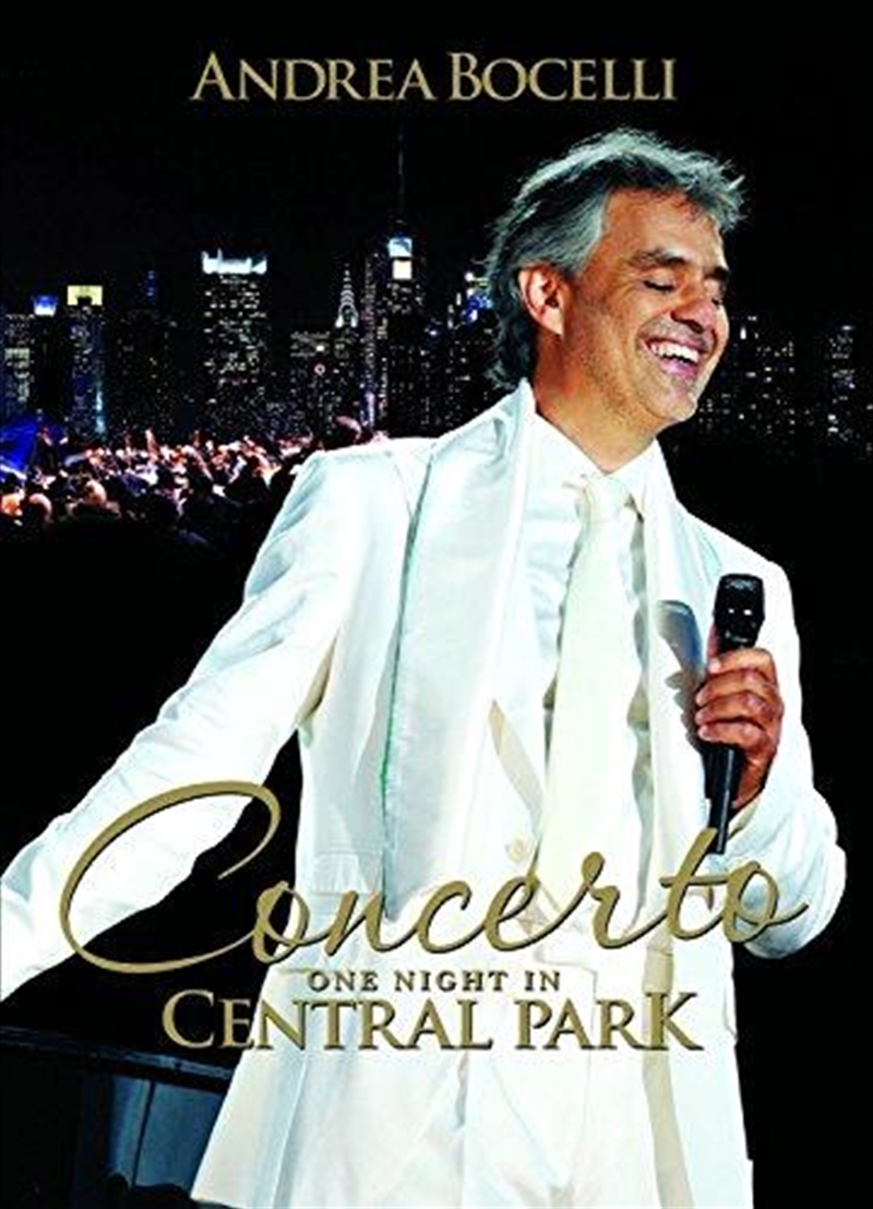 Concerto-one Night In Central Park | DVD
